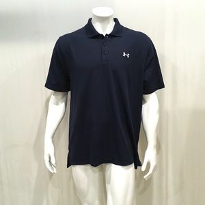 Under Armour Men's Navy Polo Shirt